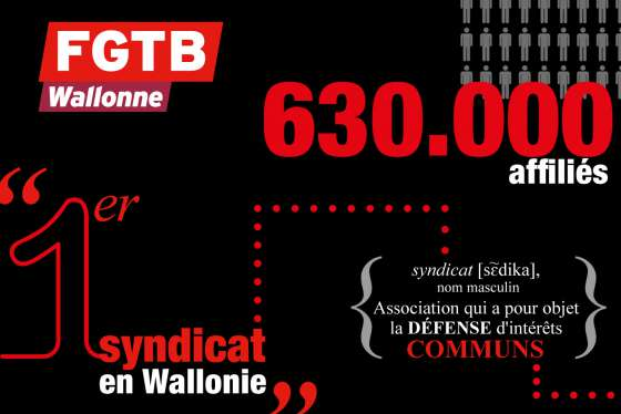 FGTB wallonne syndicat wallonie